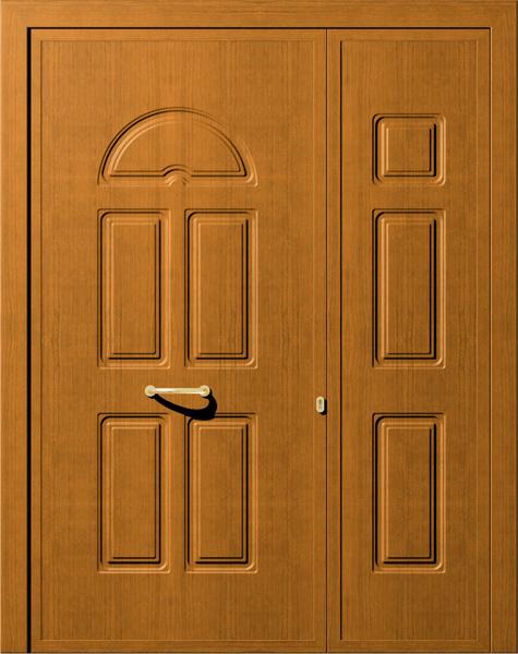 Porte blindate con pannello per esterno in alluminio - Pannello decorativo per porte ...