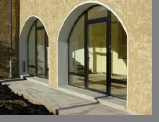 Finestre in alluminio ad arco o centinati effedue porte - Finestre ad arco ...