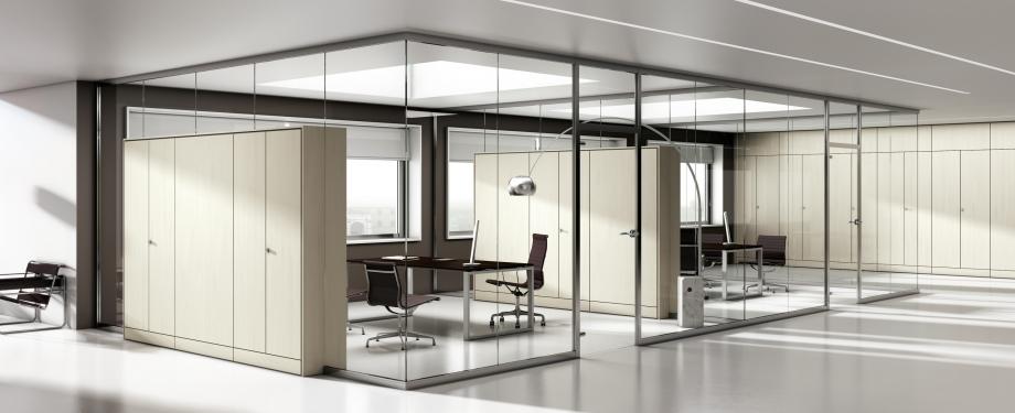 Pareti Attrezzate Moderne In Vetro : Porte interne moderne e classiche serramenti alluminio
