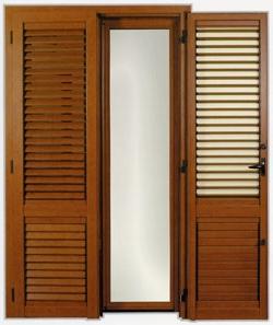 Persiane in alluminio a lamelle orientabili effedue porte for Costo persiane pvc