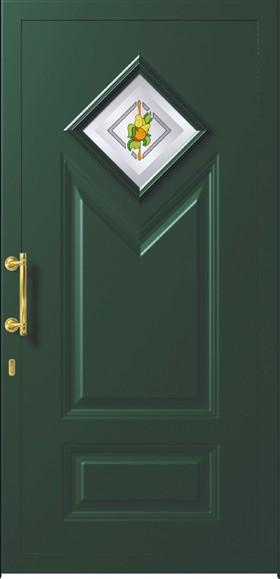 Porte blindate con pannello per esterno in alluminio - Porte blindate da esterno prezzi ...