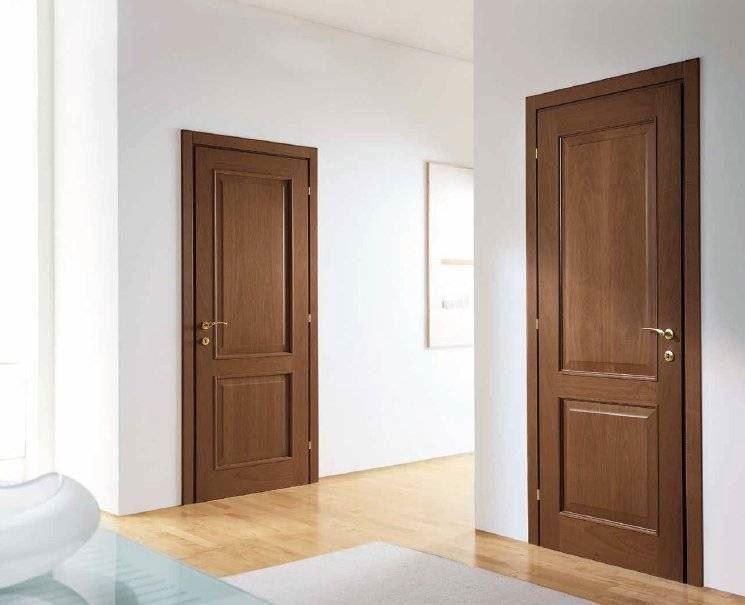 Porte interne classiche pannellate e bugnate - Effedue porte