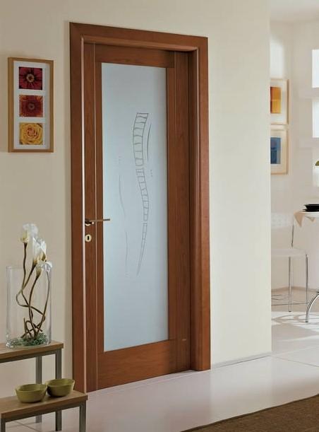 Porte interne con vetro prezzi, classiche o moderne - Effedue porte